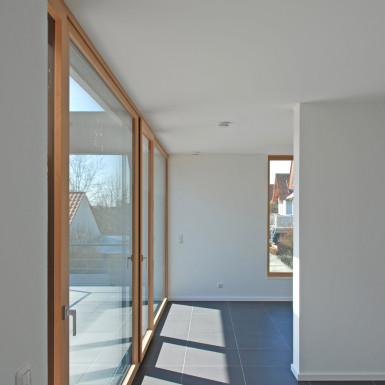 Doppelhaus Ziegelleite Bild Fensterfront 2
