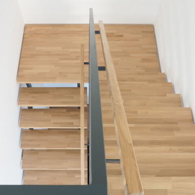 Doppelhaus Ziegelleite Bild Detail Treppe