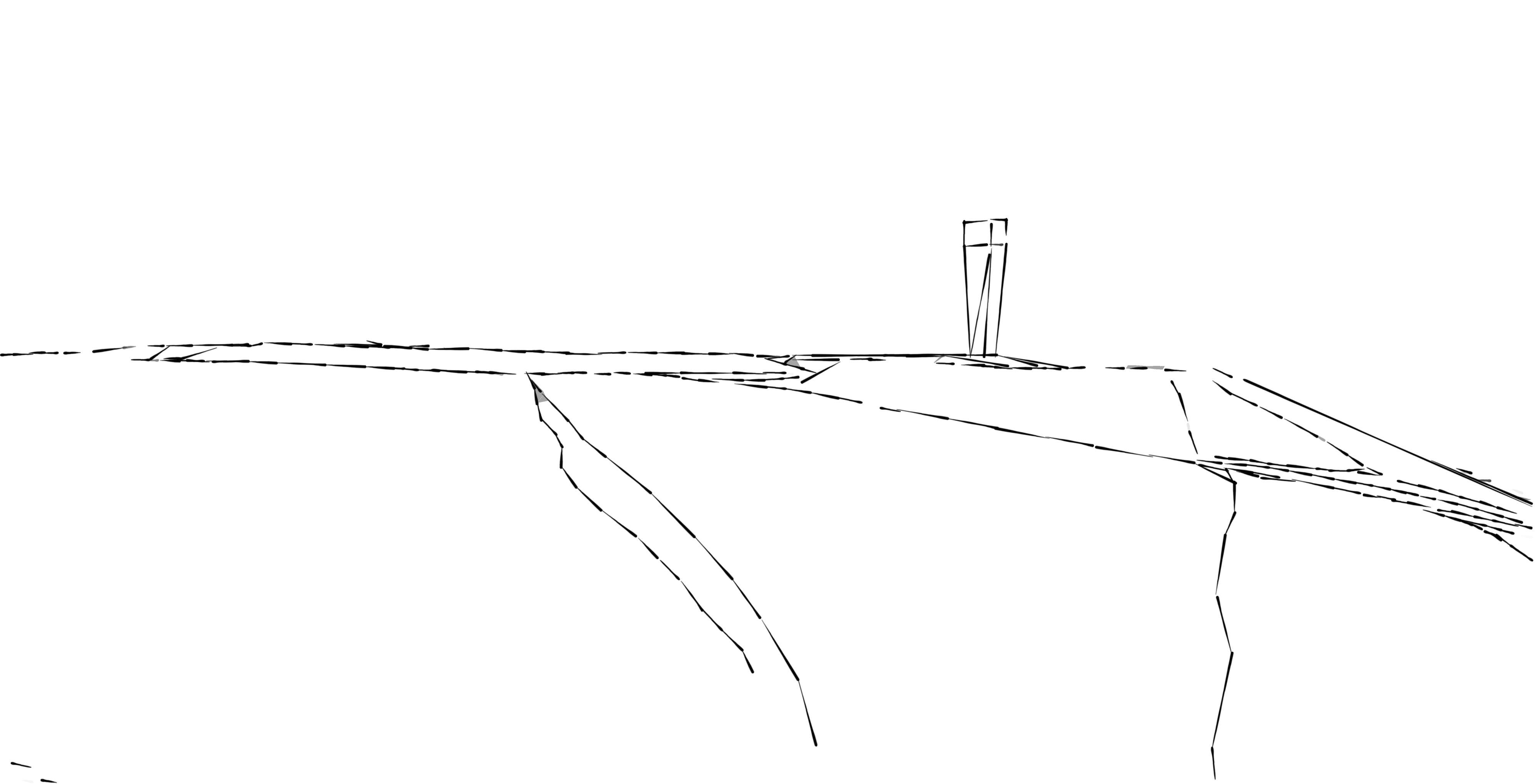 Landmarke Halde Duhamel Skizze