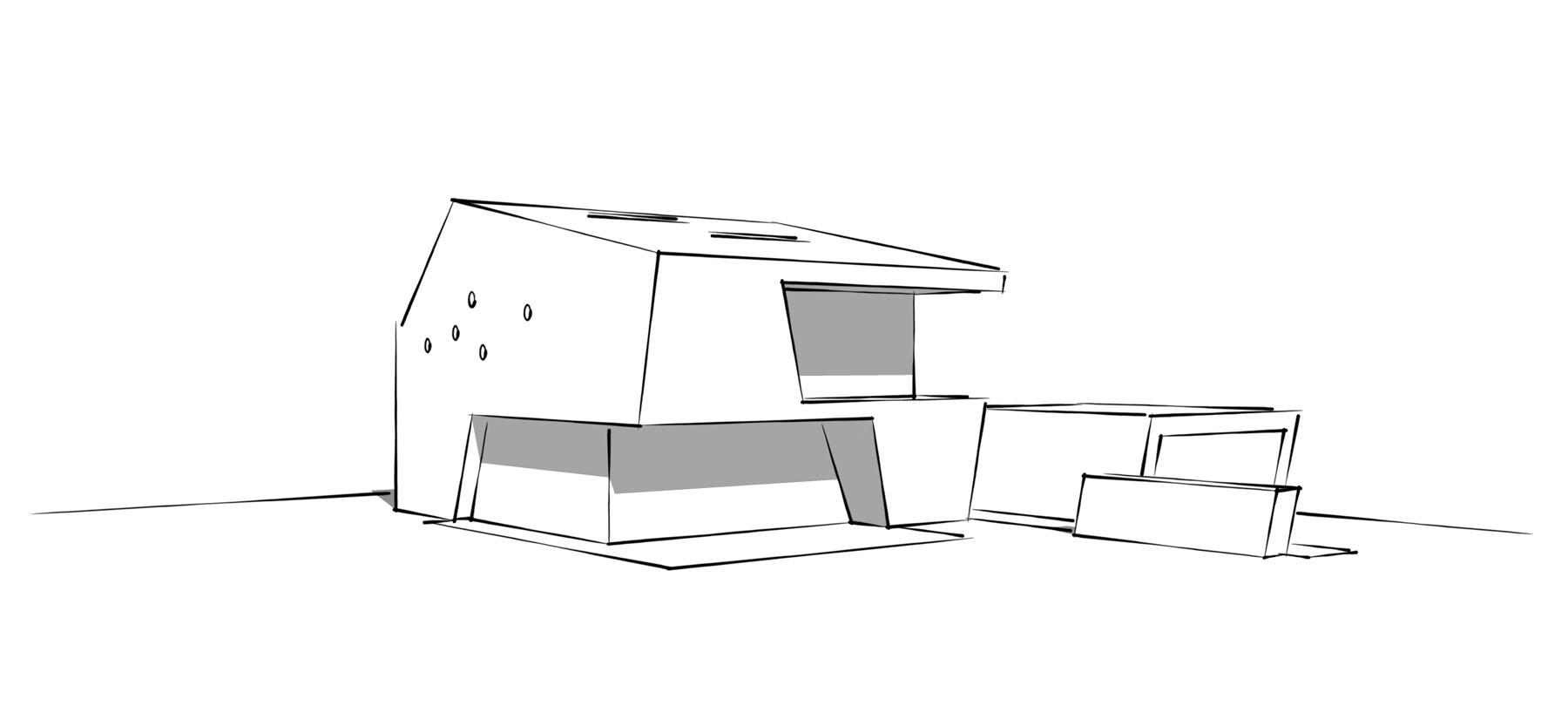 Wohnhaus Annaweg Skizze